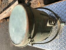 "Old Carlisle Finch Cincinnati Ohio Solid Brass 12"" Search Light Boat Navy"