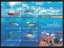 British Indian Ocean Territory 2004 Fisheries Patrol M.S. SG 295 MNH