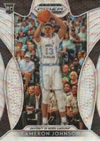 2019-20 Panini Prizm Draft Picks Basketball Blue Wave #13 Cameron Johnson /299
