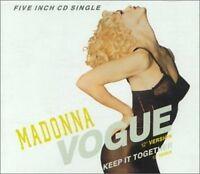Madonna Vogue/Keep it together (1990) [Maxi-CD]