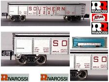 RIVAROSSI ATLAS 2404 CARRO MERCI GONDOLA TRASPORTO MINERALI 2207 USA BOX SCALA-N