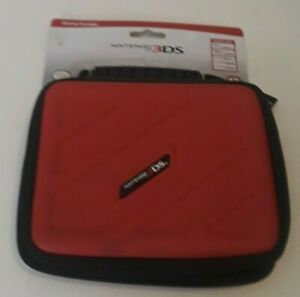 Nintendo 3DS Game Traveler Red Zippered Carry Case #3DS205 RDS Industries NEW