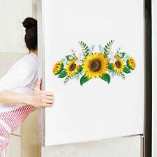 Home Wall Sticker Background Bedroom Decoration Living Room PVC Sunflower Flower