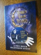 WORLD MAGIC AWARDS 2007 EMMY FYC DVD Roger Moore Pamela Sue Anderson +PHOTOmag