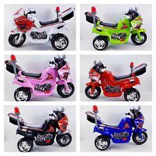 Kindermotorrad Elektromotorrad Topracer Kinder von 4-8 Jahre 6 Farben