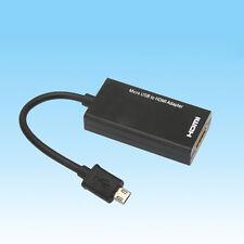 MINI MHL USB da Adattatore HDMI cavo HD 1080P CAVO PER SAMSUNG GALAXY S2 Android
