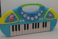 Peppa Pig Toy 25-Key Light-Up Piano Keyboard Tested Works Music Educational