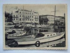 GRADO il porto Metropol S. Giusto Gorizia vecchia cartolina