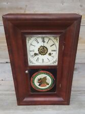 Antique Miniature Og/Ogee Gilbert Clock w/ Alarm C-1870-90