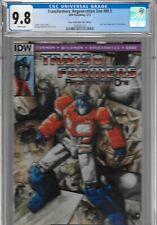 Transformers Regeneration One 80.5 80 1/2 CGC 9.8 FCBD IDW 2012 NO STAMP RARE