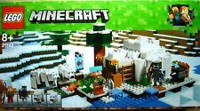 Lego Minecraft 21142 - Eis-Iglu mit 4 Minifiguren +neu und ovp++