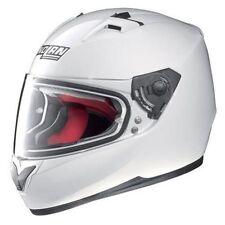 Cascos liso de color principal blanco para conductores