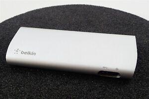 Belkin F4U085 Thunderbolt 2 USB 3.0 Mini DP HDMI Express Dock HD No Adapter