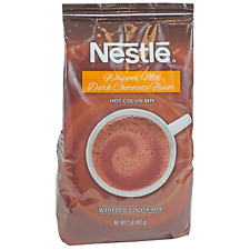 Nestle Hot Cocoa Whipper Mix Dark Chocolate Flavor 2 lb Bag