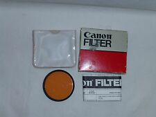 Genuine Canon 58mm 85 (A) Filter 5885A old stock New 58