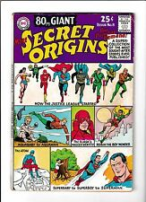 80PG GIANT #8  [1965 VG+]  SECRET ORIGINS