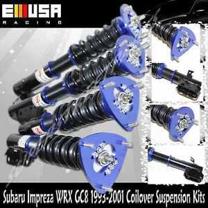 Full Coilover Suspension Kit FIT95-96 Subaru Impreza LX Sedan/Wagon 4D 2.2L BLUE