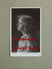MARIE LOHR - PHOTOGRAPH - AUTOGRAPH  - PYGMALION - LAURENCE OLIVIER