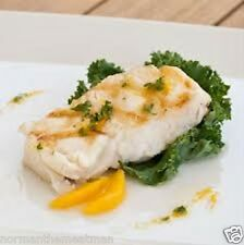 CHILEAN SEA BASS - 8 / 8 oz PORTIONS -DELICIOUS - INDIVIDUALLY VAC SEALED FROZEN