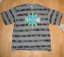 VISION Street Wear anni ottanta tutto spogliato Skateboard Tee Shirt-NOS