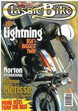 CB Oct 95 Norton International Rickman Metisse BSA A70 Sunbeam Rumi Honda CB350