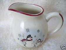 ROYAL SEASONS SNOWMEN  Creamer  Snow Man Mint Condition