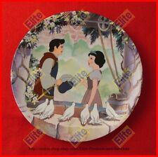 """Snow White and the Seven Dwarfs """"A Wish Come True"""" Collectors Plate - MIB"""