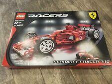 NEW Lego Racers 8386 FERRARI F1 Racer 1:10 Sealed - Ships World Wide