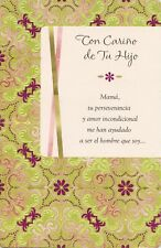 AG Spanish Mother's Day Card From Son: I Love You More Than You Can Ever Imagine