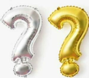 """16"""" 40"""" Red Letter Number Foil Balloon Mylar Party Birthday Wedding Baby Shower"""