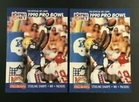 1990 Pro Set #415 STERLING SHARPE Lot 2 ALL PRO Green Bay Packers $$ HOT $$