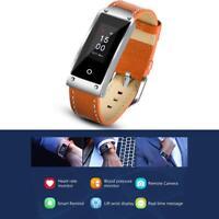 Smart Bracelet Watch Heart Rate Monitor Pedometer Tracker Bluetooth Sport GPS