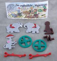 Überraschungsei Figur Oskars Dickhäuterkutsche 1995 Wagenrennen Elefant Spielzg
