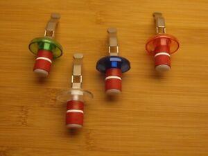2 Flaschenverschlüsse, Flaschenverschluss, Weinflaschenverschluss-Sektflaschen