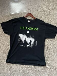 Vintage Exorcist Horror Movie Shirt Large FOTL
