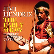More details for jimi hendrix 'the early show' (berkeley community center 1970) cd (22 oct. 2021)