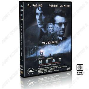 Heat DVD : (1995) Movie : AL Pacino / Val Kilmer : Brand New