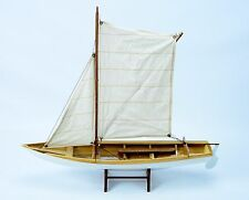 KRAGEROTERNA Norwegian Fishing Boat - Handmade Wooden Boat Model