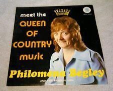 Meet The Queen Of Country Music Philomena Begley And Her Ramblin' Men LP Ireland