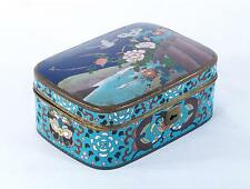 Antique Chinese ? Japanese ? Cloisonne Enamel  Box
