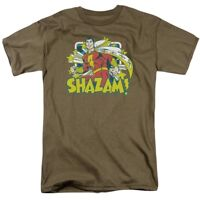 Shazam - Shazam Stars T-Shirt DC Comics Sizes S-3X NEW