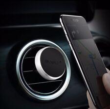 2Pk Magnetic Car Mount Air Vent Phone Holder iPhone 7 Plus 6S 6 5S Black