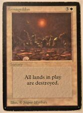 Armageddon Magic the Gathering (MtG) Beta Set Lightly Played