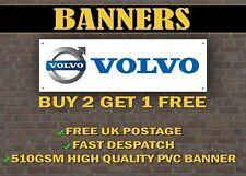 LARGE 2 METRE Volvo Car Banner for Garage / Shop / XC90 S60 XC60 V90