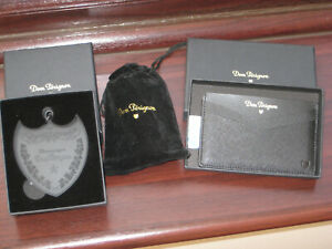3 x Classy Dom Perignon Champagne Items Wallet+ Keyring+ Stopper Classy Gift