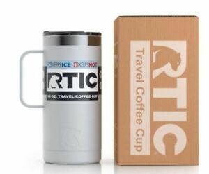 RTIC 16 Oz Stainless Steel Travel Coffee Cup Vacuum Insulated Tumblers/Mugs