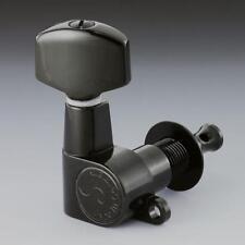 Schaller M6 L90 Mini Buttons Tuners/Machine heads, 3x3 Black 10040423