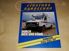 Iveco Daily 4x4 Verkehrs Rundschau 1988