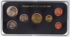1988 HELLAS COLLEZIONE-Grecia MEDAGLIA Set-bunc unciruclated!