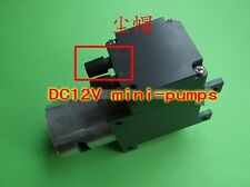 DC12V 10W 12L Micro vacuum pump Air suction aspiration diaphragm pressure pump
